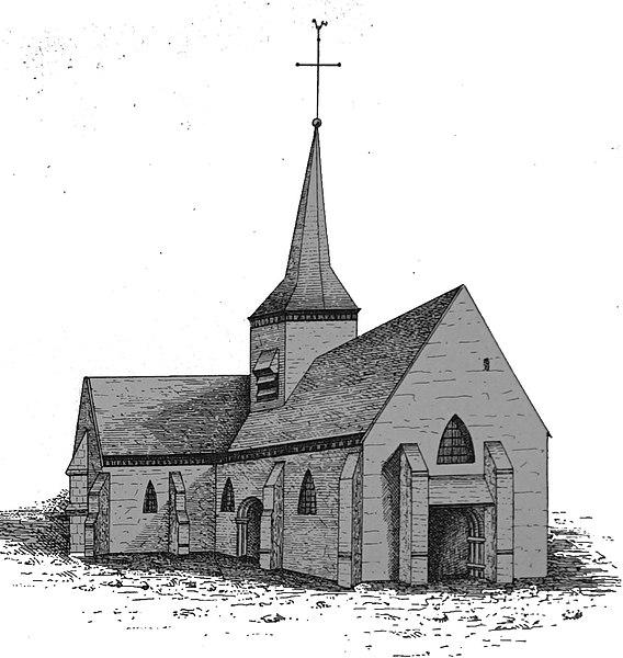 Photo du Monument Historique Eglise Saint-Julien situé à Vallant-Saint-Georges