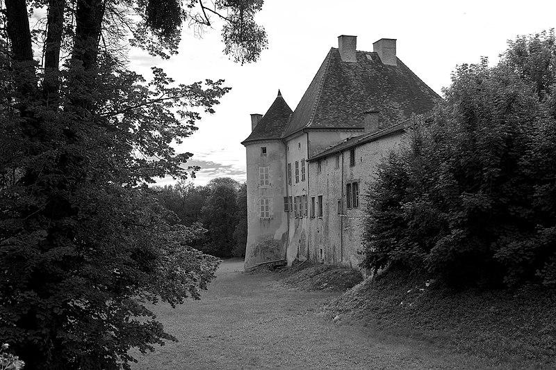 Photo du Monument Historique Château d'Arrentières situé à Arrentières