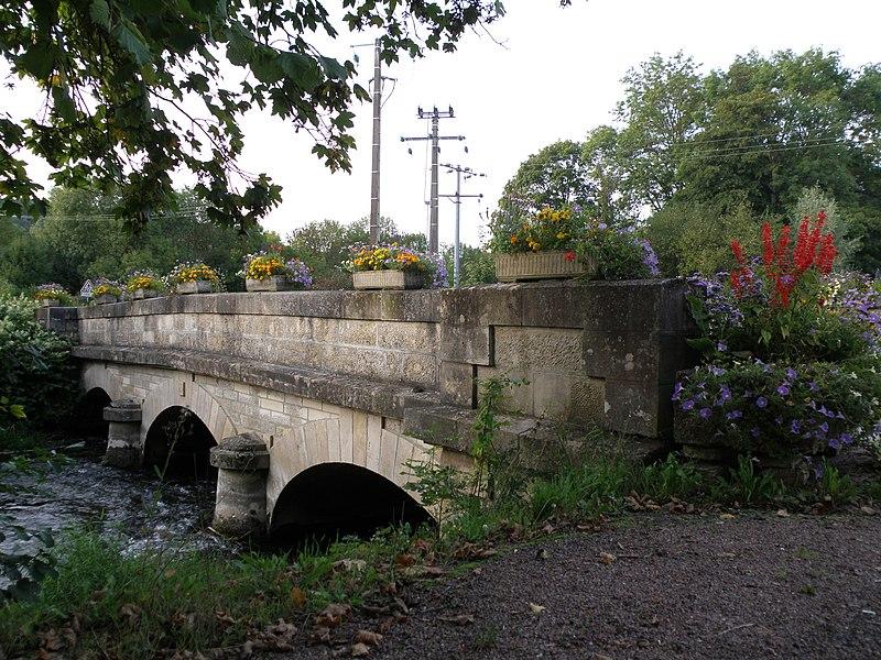 Photo du Monument Historique Pont de Ricey-Haut situé à Les Riceys