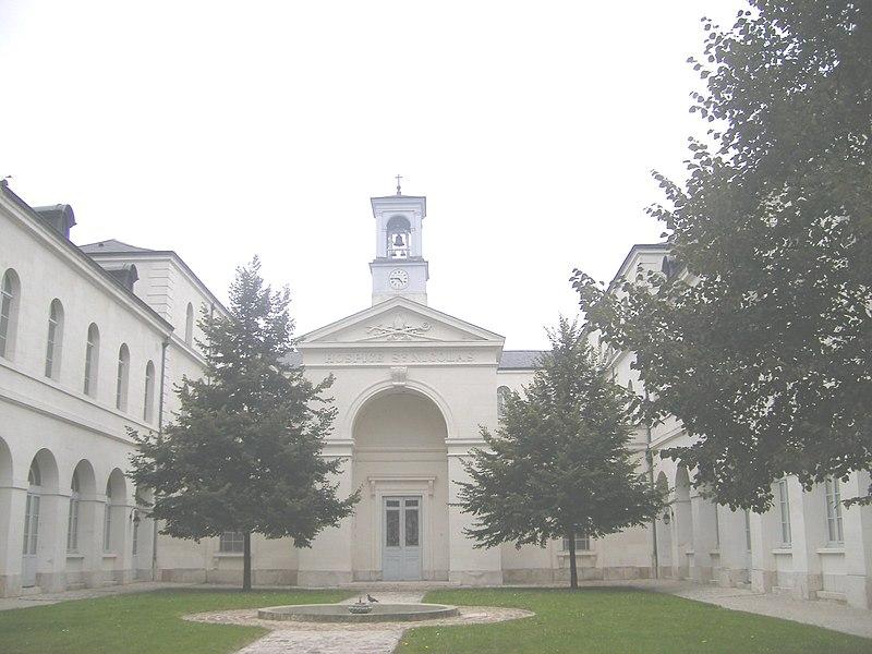 Photo du Monument Historique Hospice Saint-Nicolas situé à Troyes