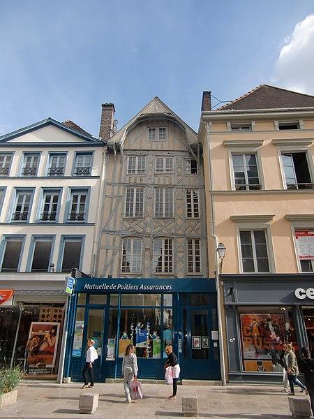 Photo du Monument Historique Immeuble situé à Troyes