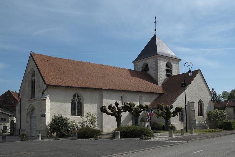 Photo du Monument Historique Eglise de l'Assomption de la Vierge situé à Proverville