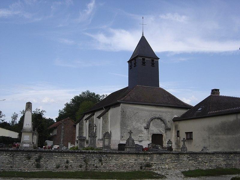 Photo du Monument Historique Eglise Saint-Gengoult situé à Juvanzé