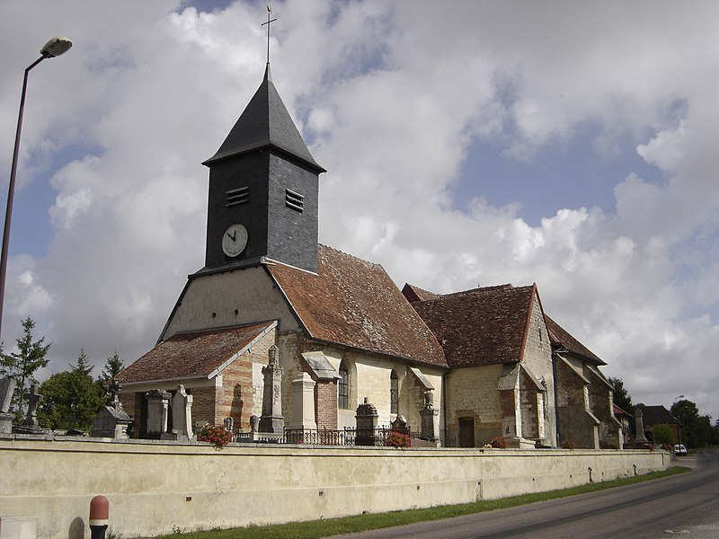 Photo du Monument Historique Eglise Notre-Dame de l'Assomption situé à Laubressel