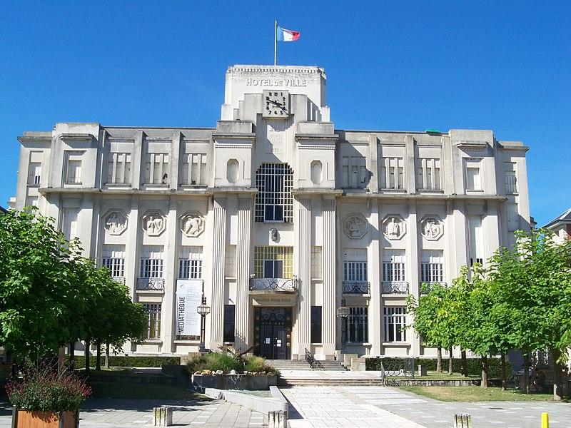 Photo du Monument Historique Ancien hôtel de ville situé à Sainte-Savine
