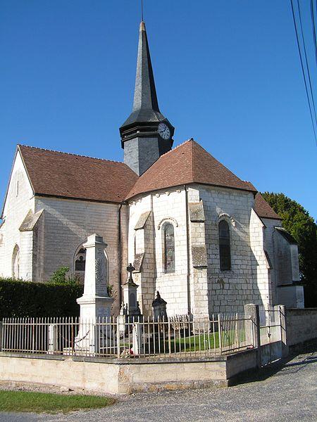 Photo du Monument Historique Eglise Saint-Martin d'Isle situé à Isle-Aubigny