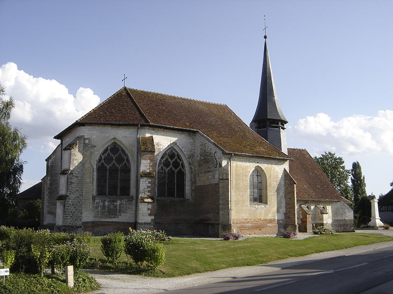 Photo du Monument Historique Eglise situé à Géraudot