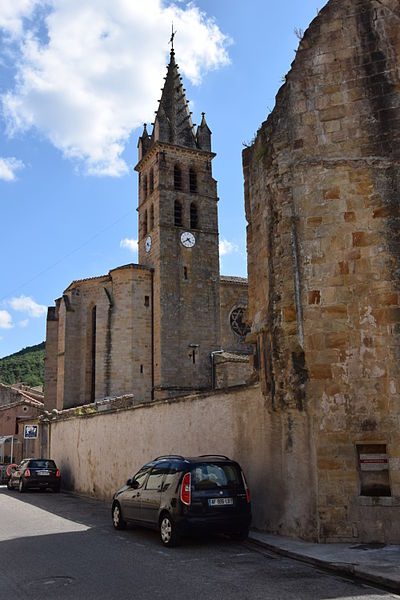 Photo du Monument Historique Eglise paroissiale Saint-André situé à Alet-les-Bains