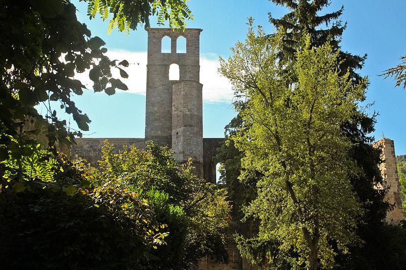 Photo du Monument Historique Restes du palais épiscopal situé à Alet-les-Bains