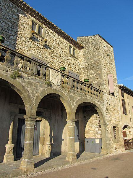 Photo du Monument Historique Château situé à Aragon