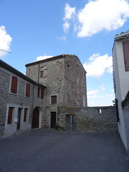 Photo du Monument Historique Château situé à Arzens