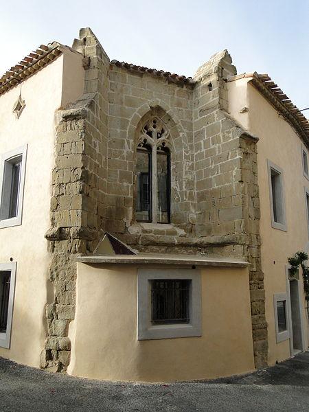 Photo du Monument Historique Ancienne chapelle des Clarisses situé à Azille