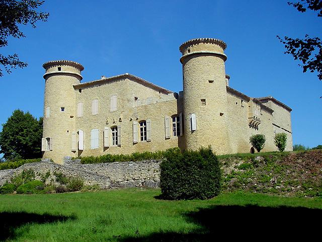 Photo du Monument Historique Château situé à Baraigne