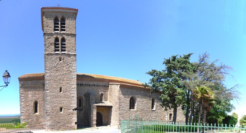 Photo du Monument Historique Eglise Saint-Julien et Sainte-Basilisse situé à Barbaira
