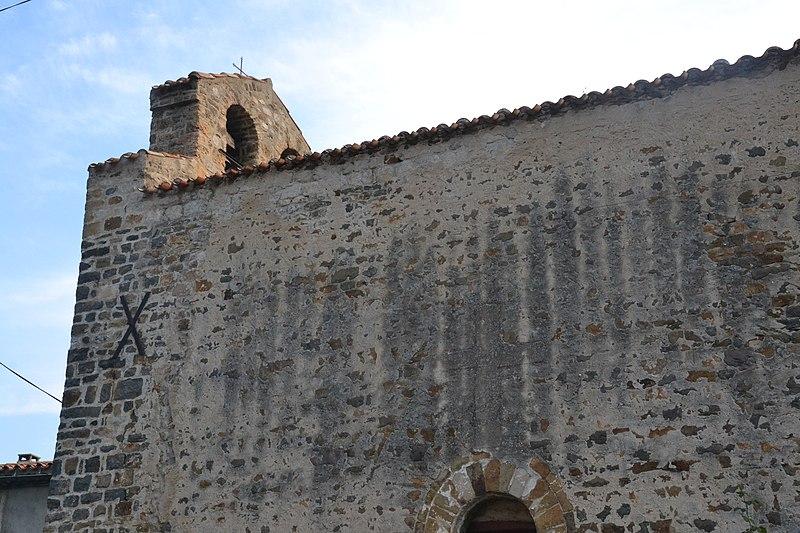 Photo du Monument Historique Eglise Saint-Jacques de Cavirac situé à Belvianes-et-Cavirac