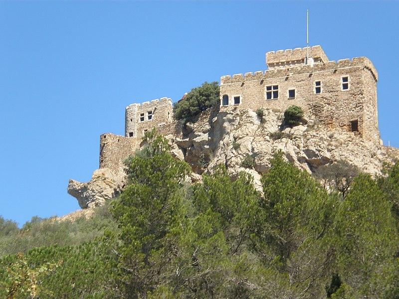 Photo du Monument Historique Ruines du château de Saint-Martin de Toques situé à Bizanet