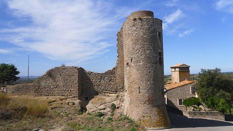 Photo du Monument Historique Château situé à Bouilhonnac