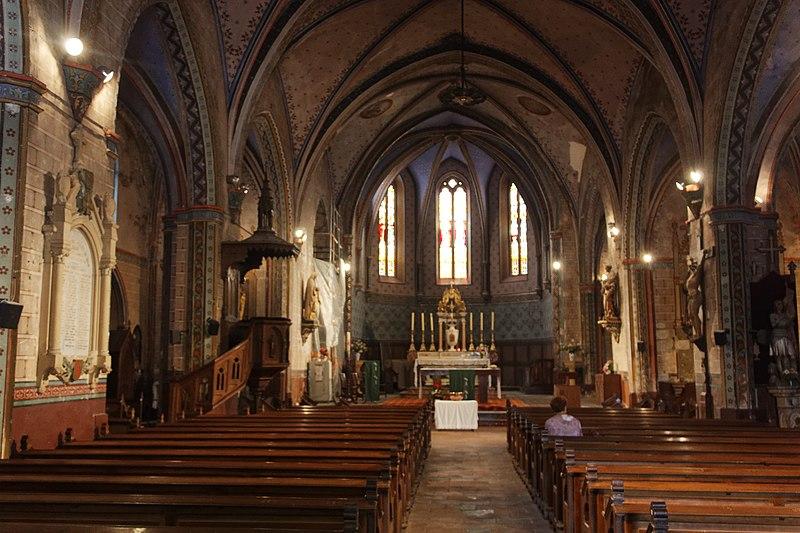Photo du Monument Historique Eglise Saint-Julien et Sainte-Basilisse situé à Bram