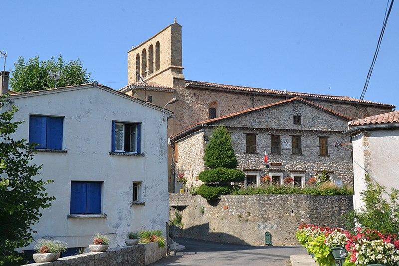 Photo du Monument Historique Eglise Saint-Julien et Sainte-Basilisse situé à Brenac