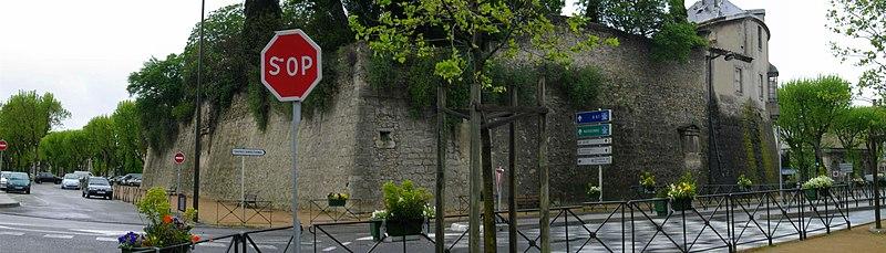 Photo du Monument Historique Bastion de Montmorency situé à Carcassonne