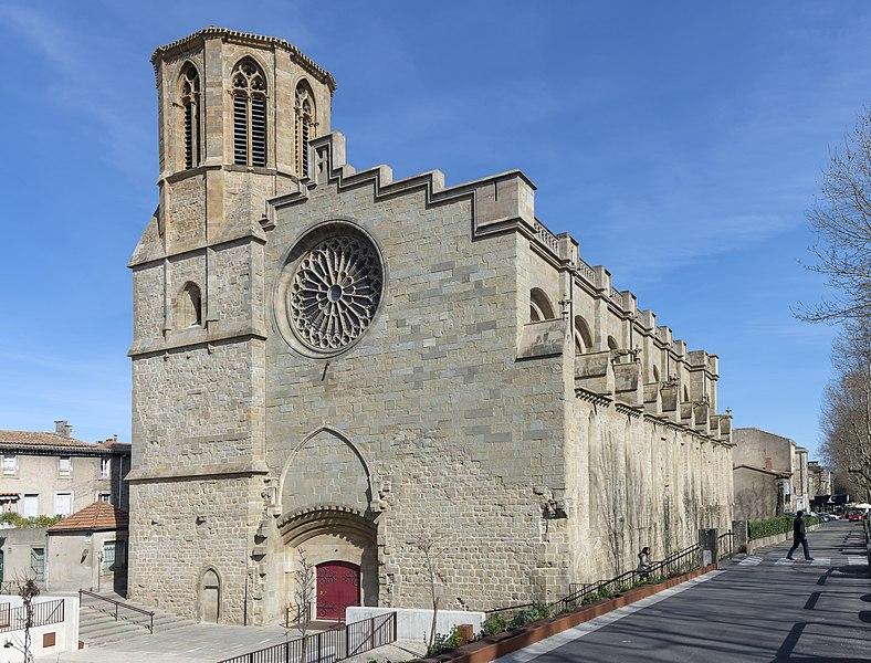 Photo du Monument Historique Cathédrale Saint-Michel et abords situé à Carcassonne