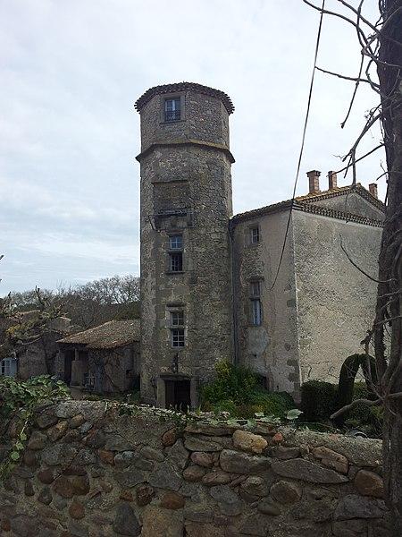 Photo du Monument Historique Château de Saint-Martin-de-Poursan situé à Carcassonne
