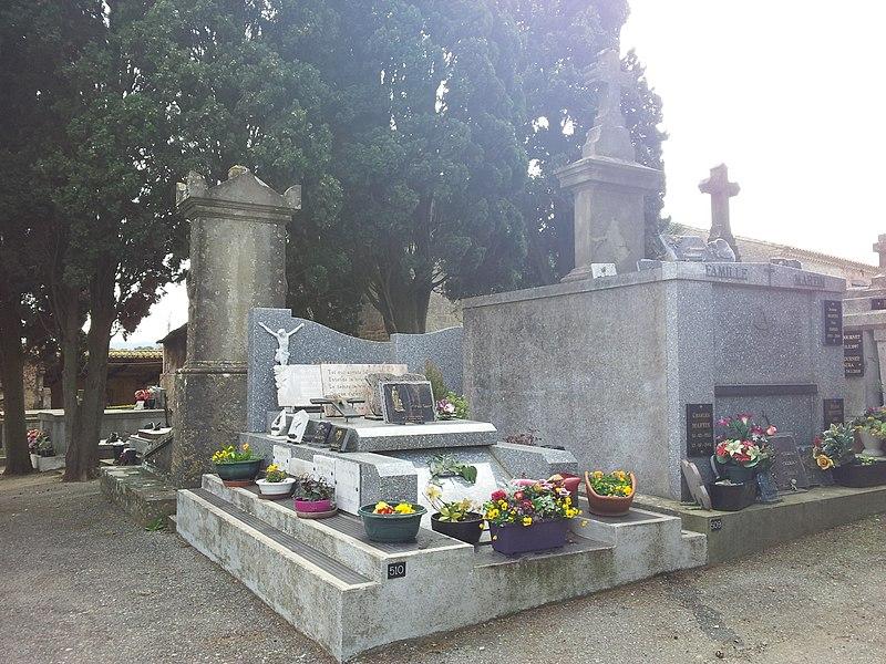 Photo du Monument Historique Cimetière de Saint-Martin-de-Poursan situé à Carcassonne