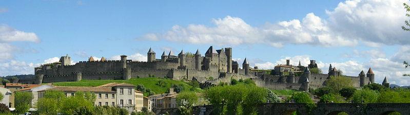 Photo du Monument Historique Cité de Carcassonnne situé à Carcassonne