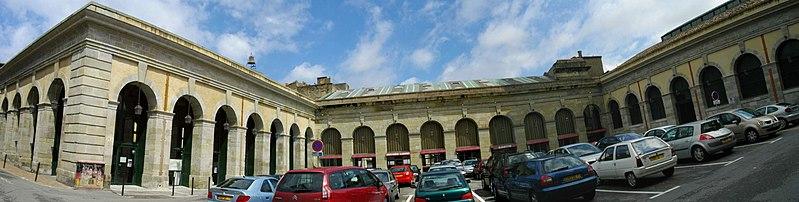 Photo du Monument Historique Halles situé à Carcassonne