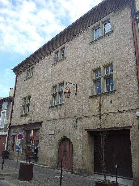 Photo du Monument Historique Ancien hôtel de Pelletier situé à Carcassonne