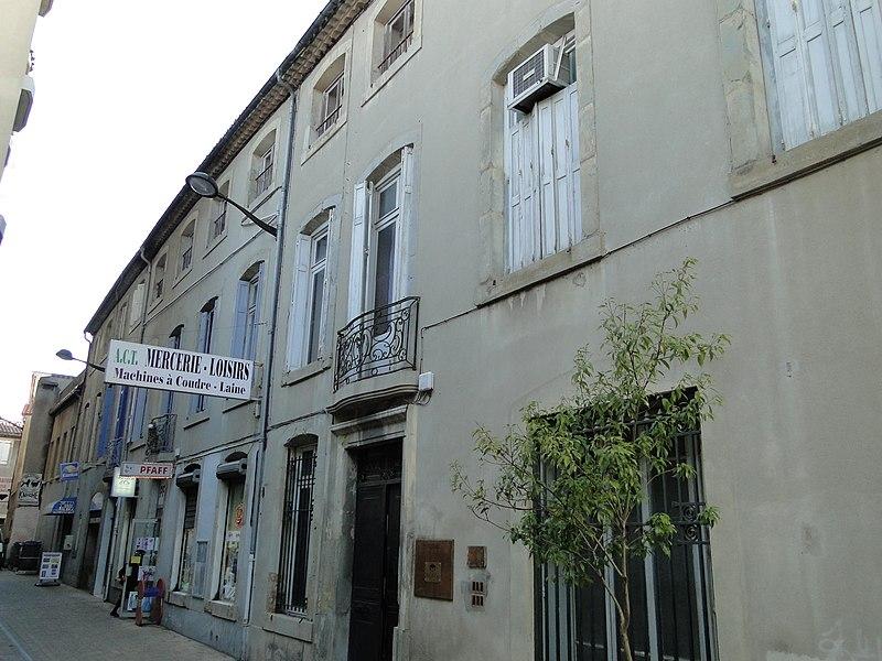 Photo du Monument Historique Maison situé à Carcassonne