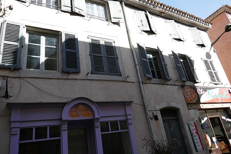 Photo du Monument Historique Maison Alaux situé à Carcassonne
