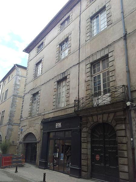 Photo du Monument Historique Maison Cotte situé à Carcassonne