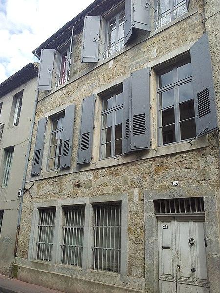 Photo du Monument Historique Maison Gally situé à Carcassonne