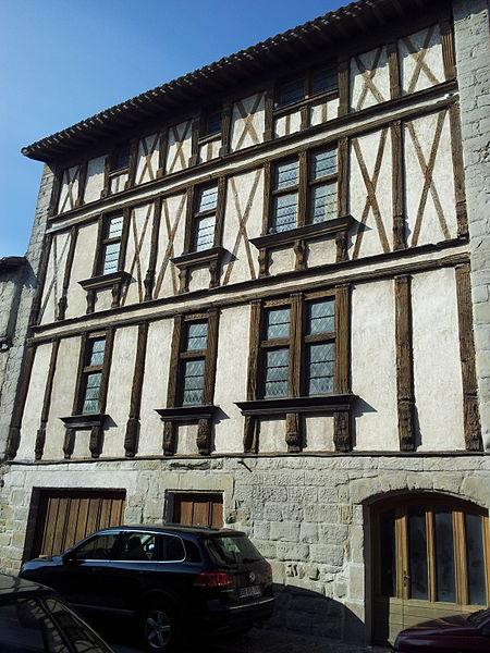 Photo du Monument Historique Maison dite de Montmorency situé à Carcassonne