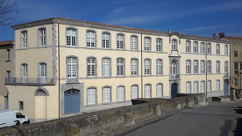 Photo du Monument Historique Ancienne manufacture royale de draps situé à Carcassonne