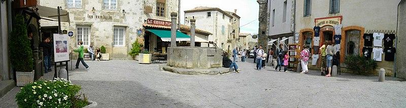 Photo du Monument Historique Grand Puits de la Cité situé à Carcassonne