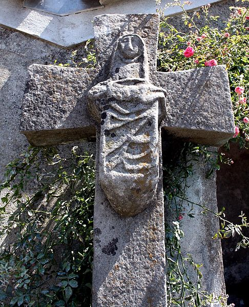 Photo du Monument Historique Croix du lavoir situé à Castans