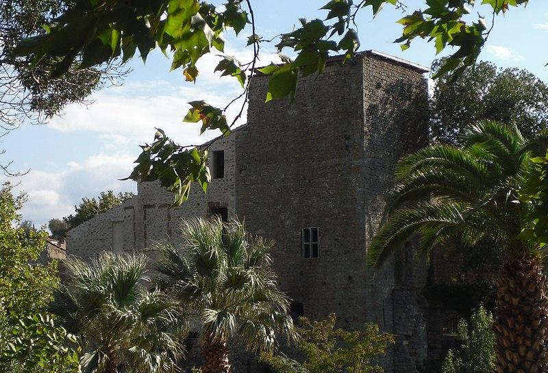 Photo du Monument Historique Château de Cascastel situé à Cascastel-des-Corbières