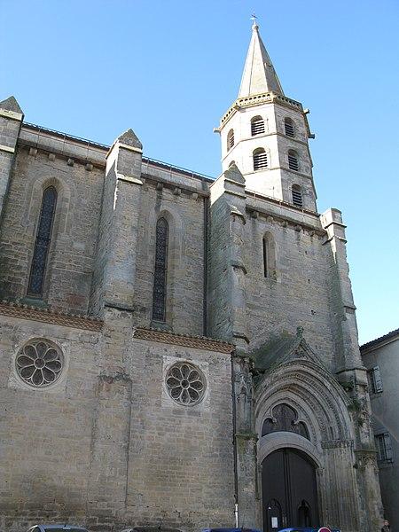 Photo du Monument Historique Eglise Saint-Michel situé à Castelnaudary