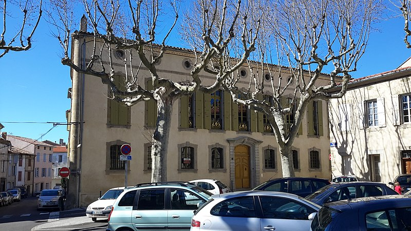 Photo du Monument Historique Hôtel de Bataille situé à Castelnaudary