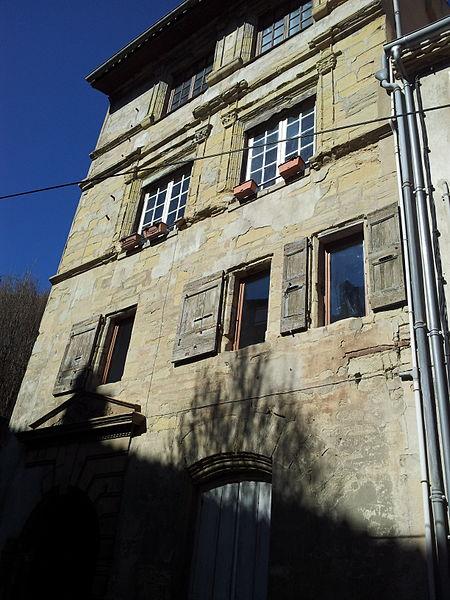 Photo du Monument Historique Maison Rigaud situé à Castelnaudary