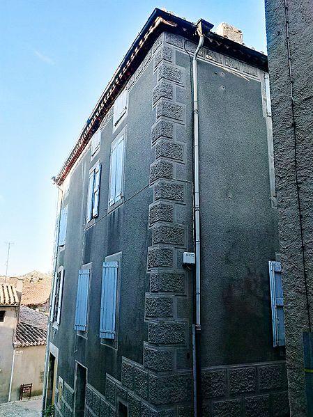 Photo du Monument Historique Maison Etienne Vidal situé à Caunes-Minervois
