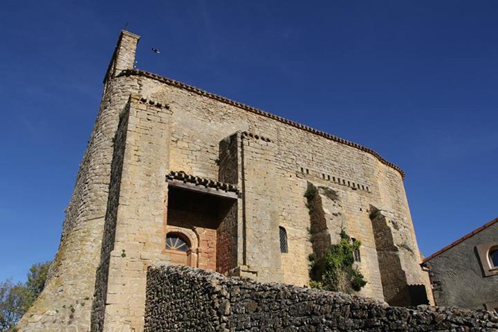 Photo du Monument Historique Eglise Notre-Dame situé à Cazalrenoux
