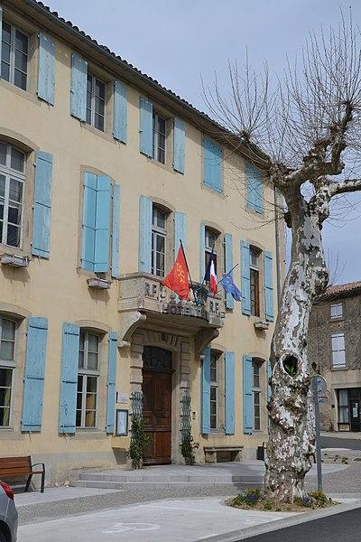 Photo du Monument Historique Hôtel de ville situé à Chalabre
