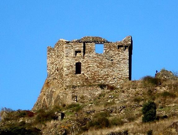 Photo du Monument Historique Ruines du château situé à Citou