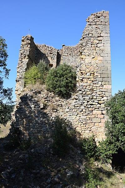 Photo du Monument Historique Ancien château situé à Clermont-sur-Lauquet