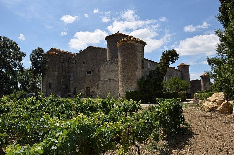 Photo du Monument Historique Château des Saptes situé à Conques-sur-Orbiel