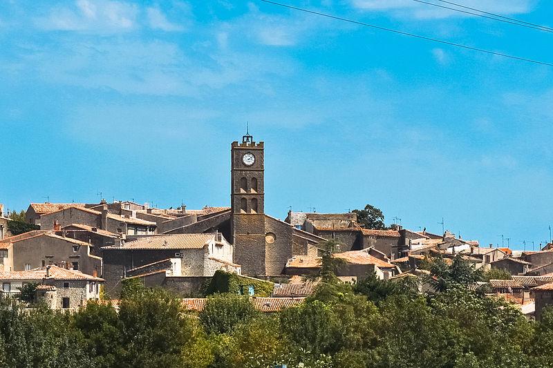 Photo du Monument Historique Eglise paroissiale Saint-Michel situé à Conques-sur-Orbiel