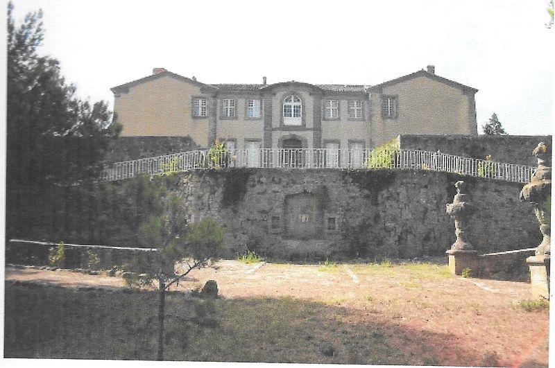 Photo du Monument Historique Château situé à Couffoulens